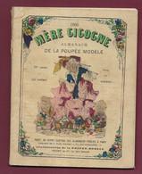 130221D - ALMANACH 1900 MERE CIGOGNE POUPEE MODELE Gravures Saisons Calendrier Pub Champagne MERCIER EPERNAY - Grossformat : ...-1900