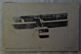 CPA 1909 Souvenir De La Grande Semaine D'Aviation SPA - Aviatori