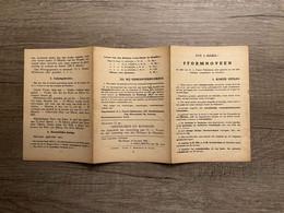 STORMNOVEEN Te Ere Van O.L.Vrouw Middelares Aller Genaden En Van Heiligen Louis-Marie De Montfort Leuven / Mechelen 1942 - Andachtsbilder
