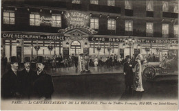 CPA PARIS 1e - Le Café Restaurant De La Régence (142183) - Pubs, Hotels, Restaurants