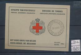 BELGIUM COB 914 B BOOKLET RED CROSS USED - Gebraucht