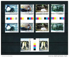Antártida Australiana Nº Yvert 90/4 (pareja Con Interpanel) En Nuevo - Sin Clasificación