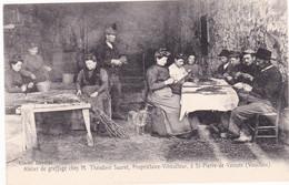 Saint Pierre De Vassois, Atelier De Greffage Chez Théodore Saurel, Viticulteur - Altri Comuni