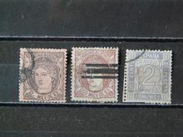 ESPAGNE - 1870/1872 N° 103 - 109 -115 (voir Scan) - Usados