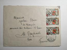 Helvetia 1941 750 Jahre Bern - Cartas