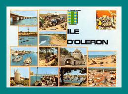 17 Ile D' Oléron Le Pont Les Huitres, Saint Pierre ( Multivues ) - Ile D'Oléron