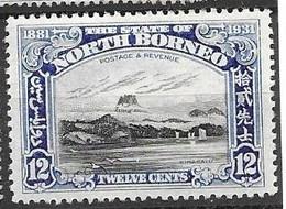 North Borneo 7,50 Euros 1931 - Bornéo Du Nord (...-1963)