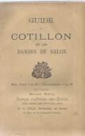 F1 Cpa / Rare LIVRE GUIDE COTILLON Danses De Salon DANSE  Et FIGURES SANS ACCESSOIRES - Música