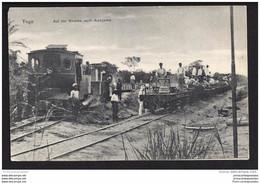CPA Auf Der Stecke Nach Atakpamé Le Train - Togo