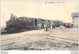 CPA 29 Goulven La Gare Et Le Train Tramway Ligne De Plouider Brignogan - Sonstige Gemeinden