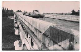 47 - AGEN - Pont Canal - Ed. MYS, Agen N° 237 - 1955 - Péniche - Agen