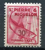 SAINT-PIERRE ET MIQUELON  N°  36 *  TAXE  (Y&T)   (Charnière) - Timbres-taxe