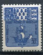 SAINT-PIERRE ET MIQUELON  N°  68 *  TAXE  (Y&T)   (Charnière) - Timbres-taxe