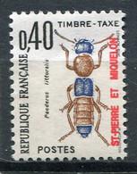 SAINT-PIERRE ET MIQUELON  N°  85 **  TAXE  (Y&T)   (Neuf) - Timbres-taxe