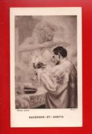 IMAGE PIEUSE, RELIGIEUSE . SOUVENIR D'ORDINATION SACERDOTALE . BAYONNE . G. MAILLUQUET - Réf. N°11192 - - Devotion Images