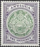 Antigua Mh * CA Watermark 110 Euros - 1858-1960 Crown Colony