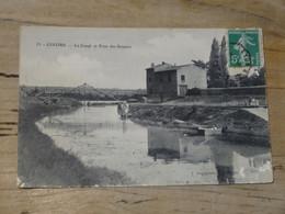 GIVORS : Le Canal Et Le Pont Des Soupirs ................ 201101-1837 - Givors