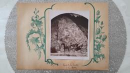 PHOTO ANCIENNE COLLEE SUR SUPPORT PAPIER - SAINT PRIX 71 SAONE ET LOIRE PROCHE SAINT LEGER SOUS BEUVRAY - Places
