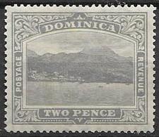 Dominica Mh * Script Watermark 4 Euros - Dominica (...-1978)