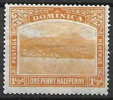 Dominica Mh * Script Watermark 4.5 Euros - Dominica (...-1978)