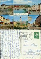 Ansichtskarte Rosenheim Mehrbildkarte Mit 6 Stadtteilansichten 1961 - Rosenheim