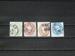 AUTRICHE - 1861 N° 18/21 O (voir Scan) - Usati