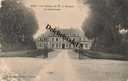 CPA 80 0019 RUE (Somme) - Le Château De M. Le Marquis De LONGVILLERS - Rue