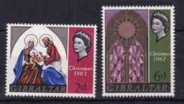 Gibraltar: 1967   Christmas    MNH - Gibraltar