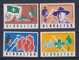 Gibraltar: 1968   60th Anniv Of Gibraltar Scout Association   MNH - Gibraltar