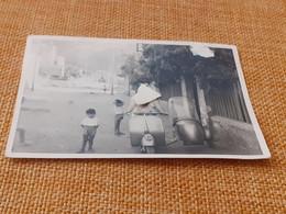 FOTOGRAFIA VESPA ANTICA ANNI 50 - Objects