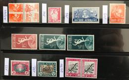 AFRIQUE Du SUD - 1933 - 1942 - NEUF ** / MNH - Lot De 12 Timbres - Collections, Lots & Series