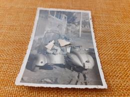 FOTOGRAFIA VESPA ANNI 40- MUSURA 9 X 6 CENTIMETRI - Places