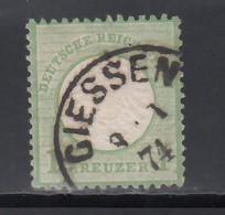 1872 Michel Nº 23, Geprüft. - Used Stamps