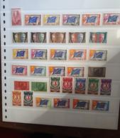 Timbres De Service Années COMPLÈTES 1958 à 1976 Neufs Luxe ** - Nuovi