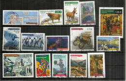 ANDORRA. FR. Año Completo 2009, 15 Sellos Cancelados, 1ª Calidad: Protection Des Pôles, Utrillo, Tour De France, Etc. - Used Stamps