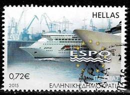 Griechenland 2015, Michel# 2830 O European Sea Ports (ESPO) Conference - Gebraucht