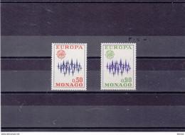 MONACO 1972 EUROPA Yvert 883-884 NEUF** MNH - Nuevos
