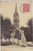 33  Gradignan  L'eglise Et Le Monument - Gradignan