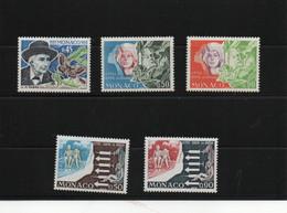 MONACO 1973 Yvert 923 + 931-932 + 951-952 NEUF** MNH Cote : 5,60 Euros - Nuevos