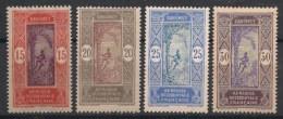 Dahomey - 1913-17 - N°Yv. 48 - 49 - 50 - 51 - 4 Valeurs - Neuf Luxe ** / MNH / Postfrisch - Unused Stamps
