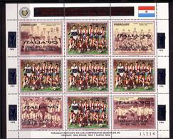 Soccer World Cup 1990 - PARAGUAY - Sheet Ovp MNH - 1990 – Italia