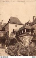 D46 LOUBRESSAC  Château - La Terrasse Couverte - Altri Comuni