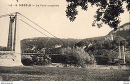 D46 MEZELS  Le Pont Suspendu - Andere Gemeenten