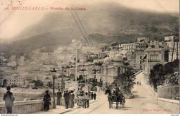 MONACO MONTE CARLO  Montée De La Costa - Monte-Carlo