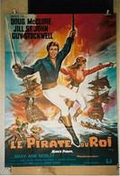 """""""Le Pirate Du Roi"""" Doug McClure, Jill St-John..1967 - 60x80 - TTB - Posters"""