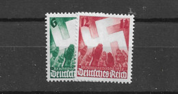 1936 MNH Germany Mi 632-33 - Unused Stamps