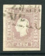 AUSTRIA 1859 1.05 Kr Lilac Newspaper Stamp Used - Journaux