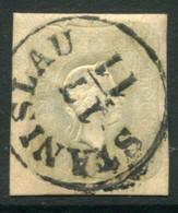 AUSTRIA 1861 1.05 Kr Light Grey Newspaper Stamp Used.  Michel 23 - Journaux