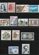MONACO 1975 Yvert 1010-1017 + 1034 + 1038 + 1040-1042 NEUF** MNH Cote : 17,95 Euros - Nuevos
