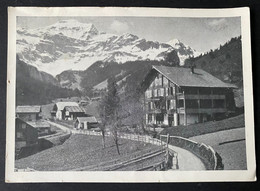 Saxeten BE Hotel Alpenrose Werbekarte - BE Berne
